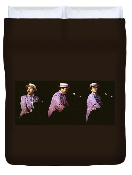 Sir Elton John 3 Duvet Cover
