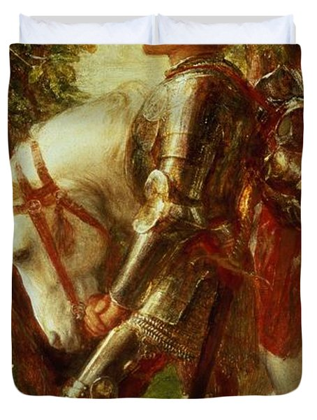 Sir Galahad Duvet Cover by George Frederic Watts