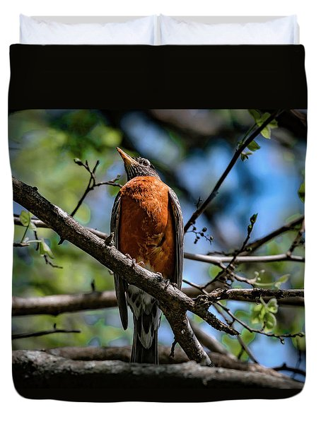 Sir Robin Duvet Cover