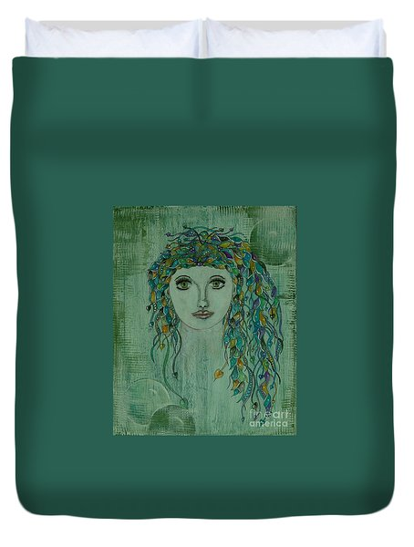 Siren Call Duvet Cover by Tamyra Crossley