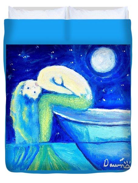 Siren Sea Duvet Cover