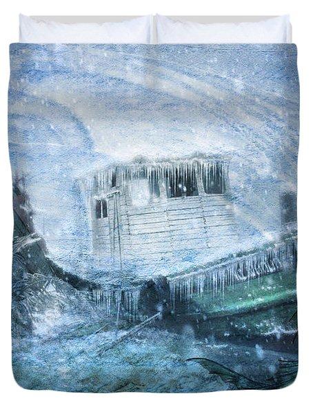 Siren Ship Duvet Cover
