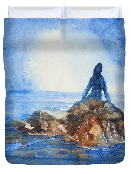 Siren Song Duvet Cover by Marilyn Jacobson