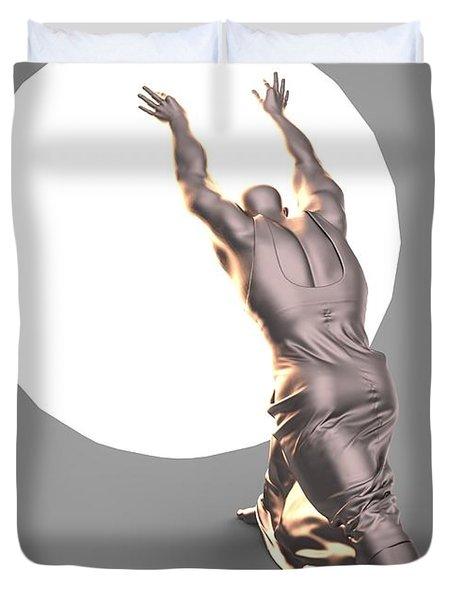 Sisyphus Lamp 04 Duvet Cover
