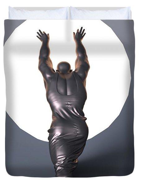 Sisyphus Lamp Duvet Cover