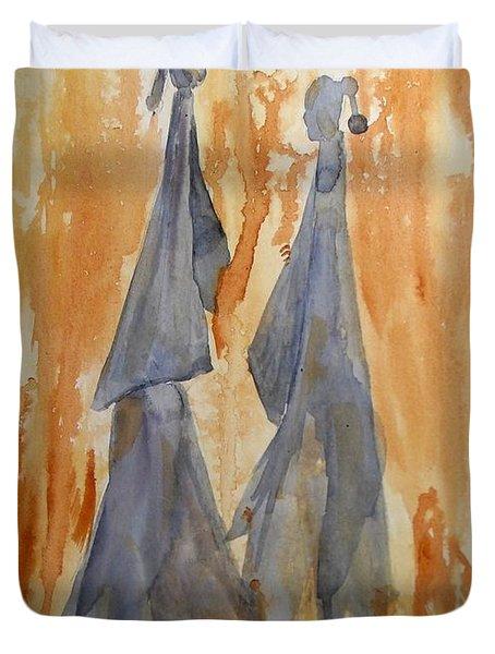 Sisters Duvet Cover