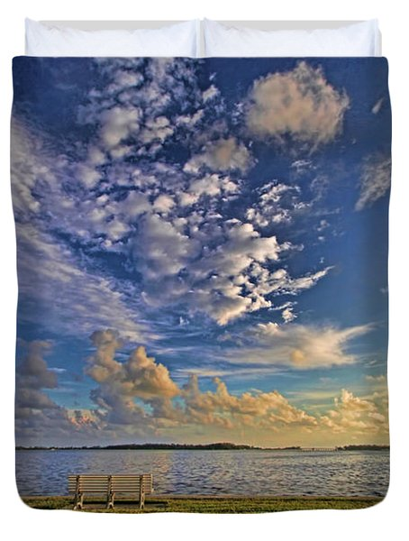 Sit A Spell By H H Photography Of Florida Duvet Cover