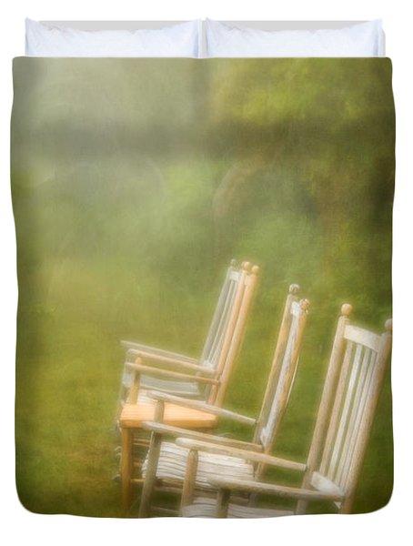 Sit A Spell Duvet Cover