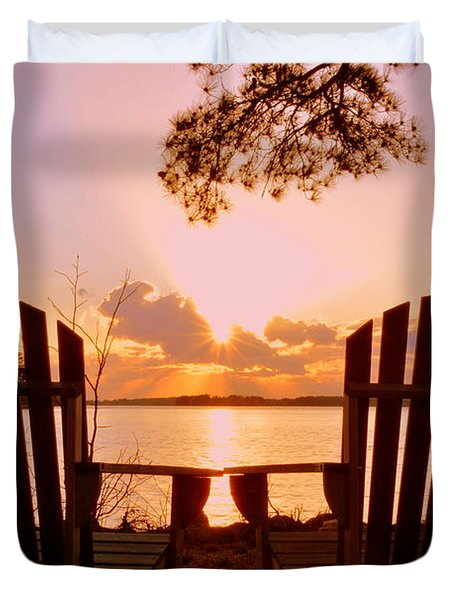 Sit Down And Relax Duvet Cover