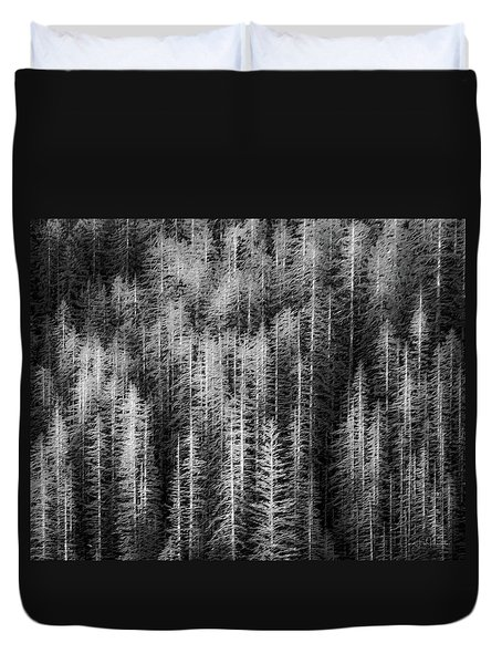 Sitka Abstraction Duvet Cover