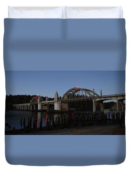 Siuslaw Bridge Duvet Cover