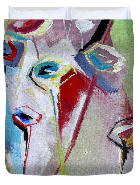 Six Poppies  Duvet Cover