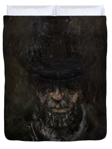 Sixteen  Duvet Cover by Antonio Ortiz