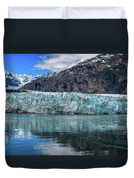 Size Perspective No Margerie Glacier Duvet Cover
