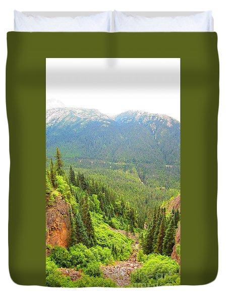Skagway Alaska Duvet Cover