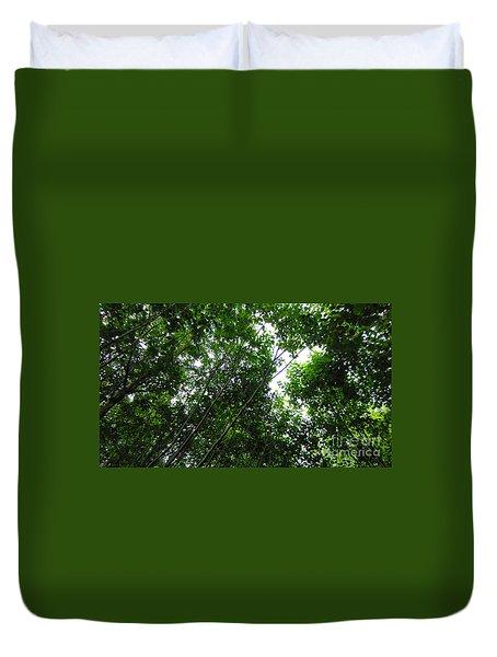 Skagway Green Duvet Cover
