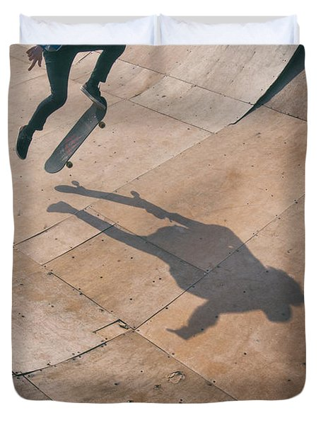 Skater Boy 001 Duvet Cover