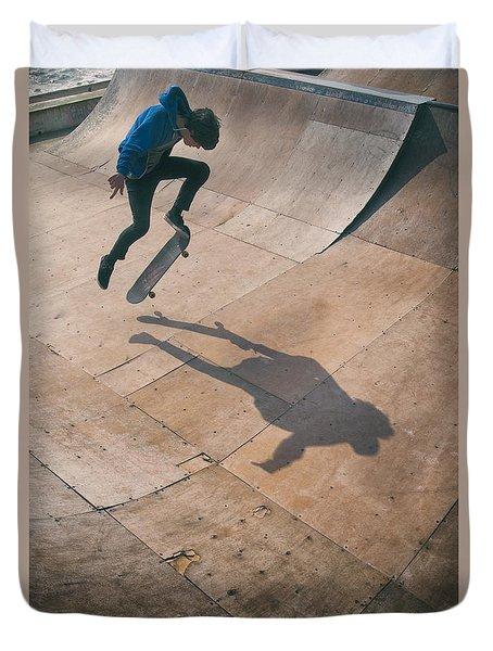 Skater Boy 001 Duvet Cover