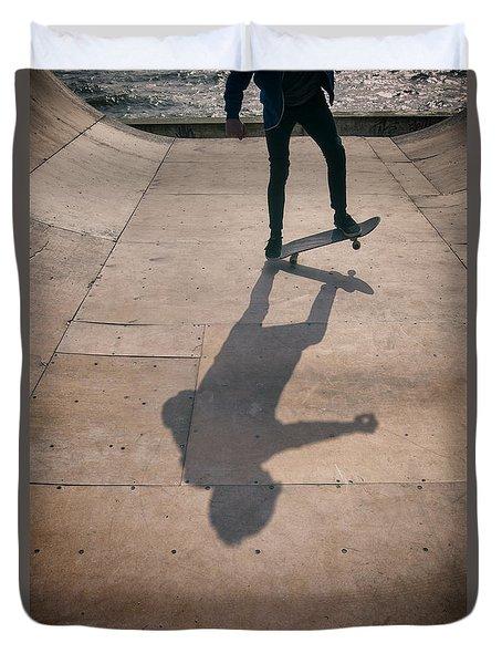 Skater Boy 002 Duvet Cover