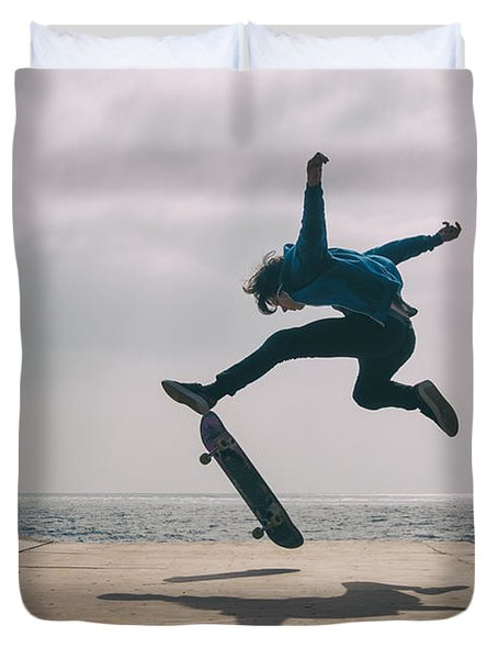 Skater Boy 003 Duvet Cover
