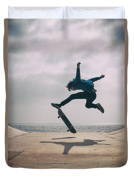 Skater Boy 003 Duvet Cover