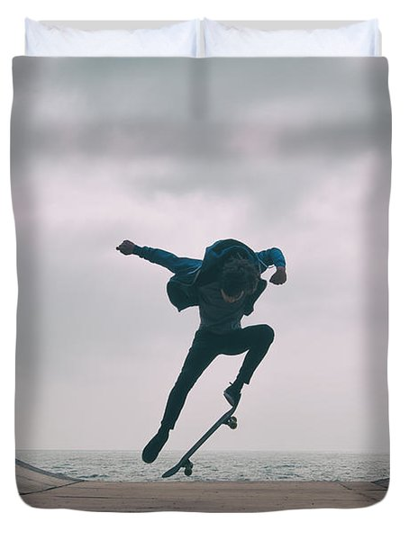Skater Boy 004 Duvet Cover