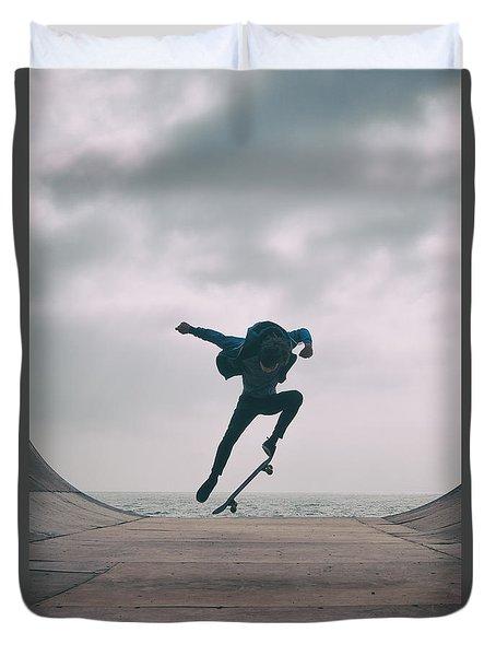 Skater Boy 004 Duvet Cover