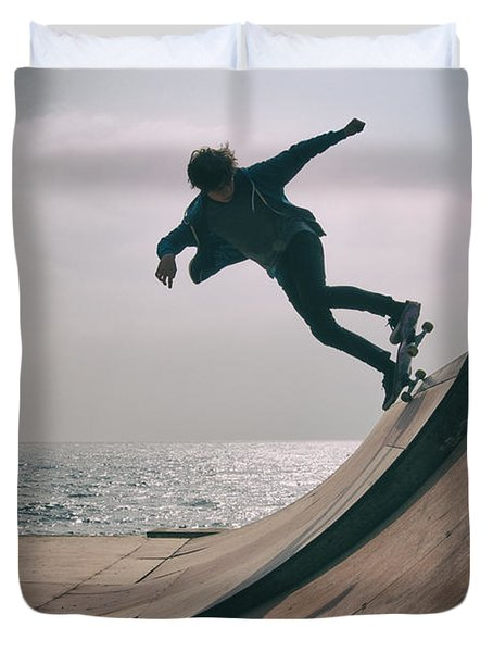 Skater Boy 007 Duvet Cover
