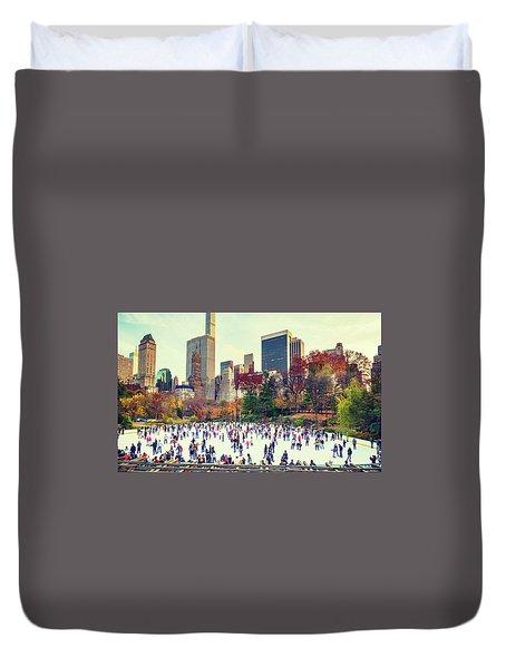 New York Central Park Duvet Cover