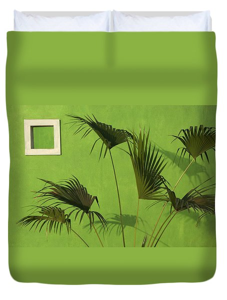 Skc 0683 The Nature Outside Duvet Cover by Sunil Kapadia