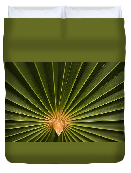 Skc 9959 The Palm Spread Duvet Cover by Sunil Kapadia