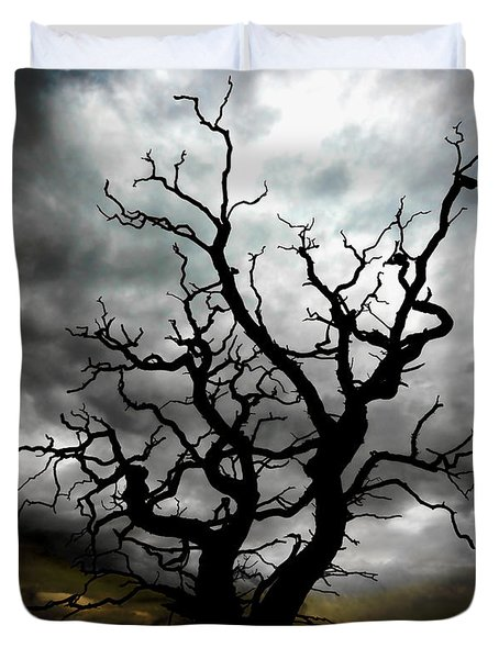 Skeletal Tree Duvet Cover