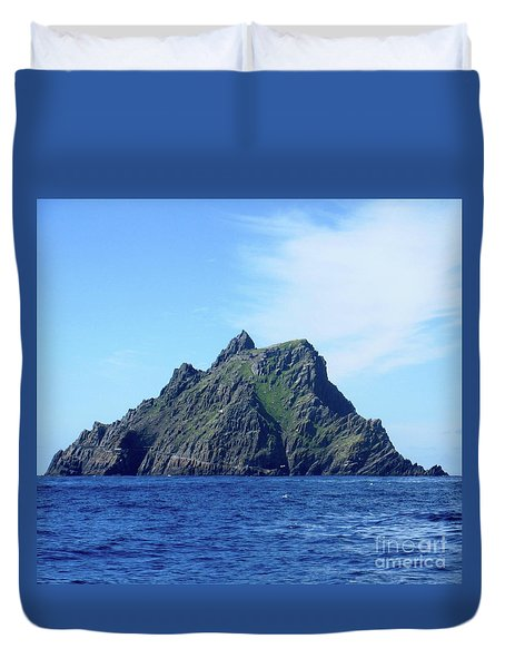 Skellig Islands 8 Duvet Cover