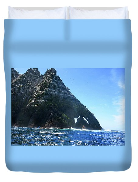 Skellig Islands Duvet Cover