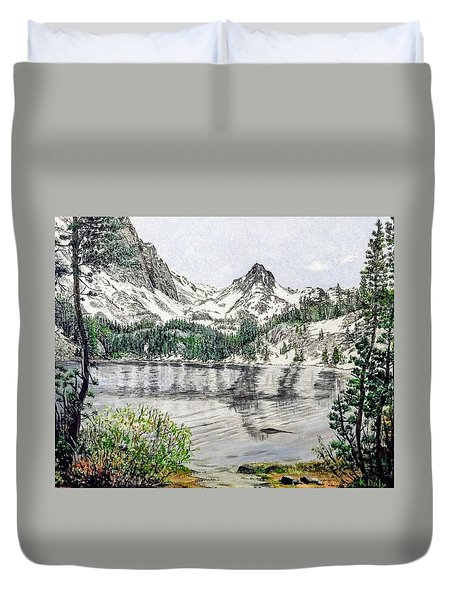 Skelton Lake Duvet Cover