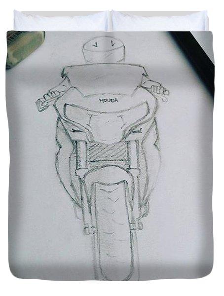 Sket Cbr250r #cbr250r Duvet Cover