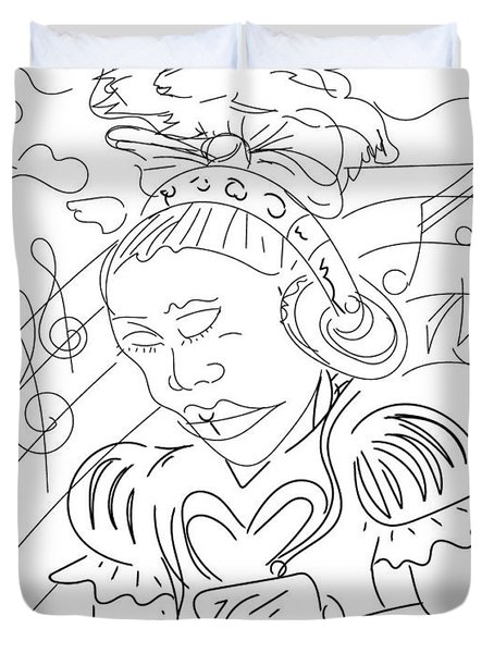 Sketch A9 Duvet Cover