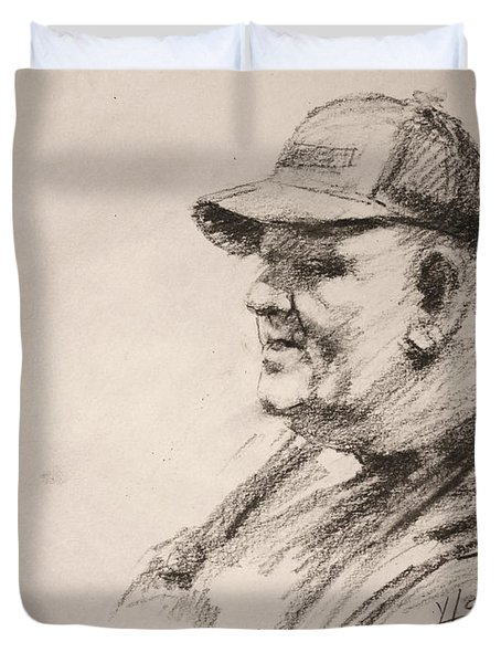 Sketch Man 15 Duvet Cover