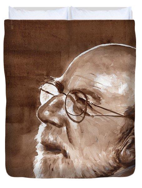 Sketch Of Bill Duvet Cover