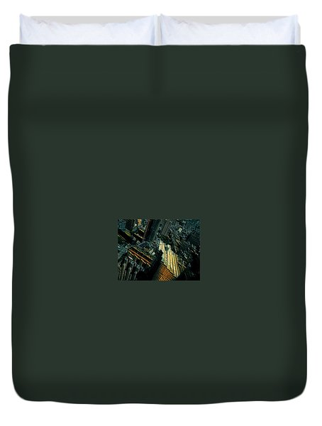 Skewed View Duvet Cover
