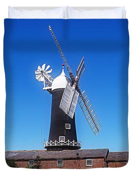 Skidby Mill East Yorkshire England Duvet Cover