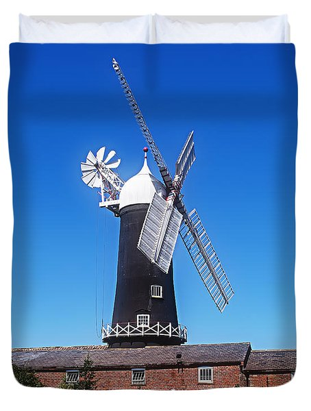 Skidby Mill East Yorkshire England Duvet Cover