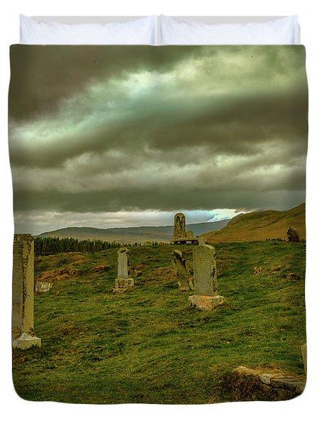 Skies And Headstones #g9 Duvet Cover