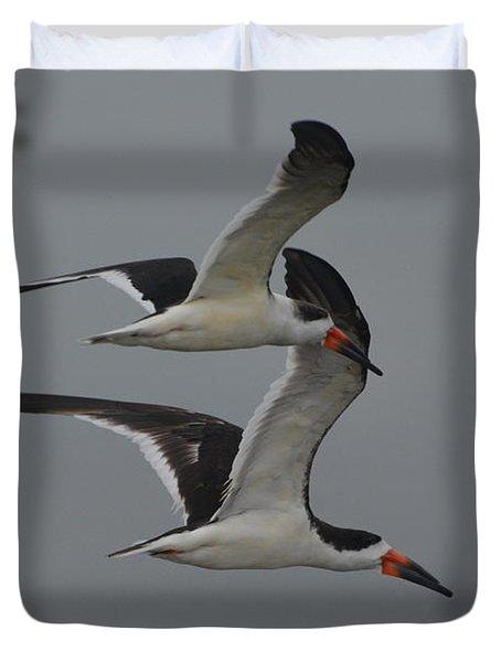 Skimmer Flight Duvet Cover