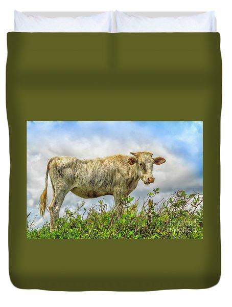Skinny Cow Duvet Cover