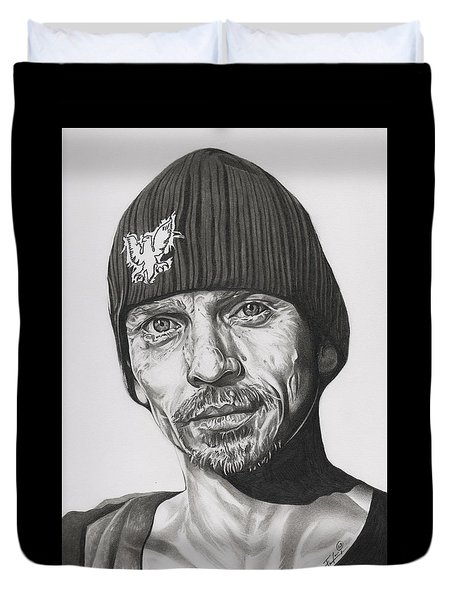Skinny Pete  Breaking Bad Duvet Cover by Fred Larucci