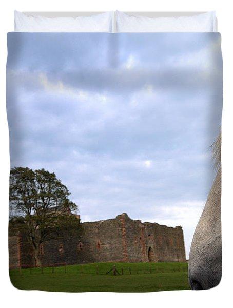 Skipness Castle Duvet Cover