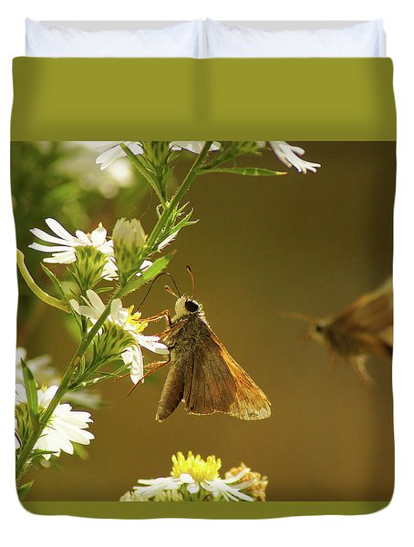 Skipper Date Duvet Cover by Thomas Bomstad