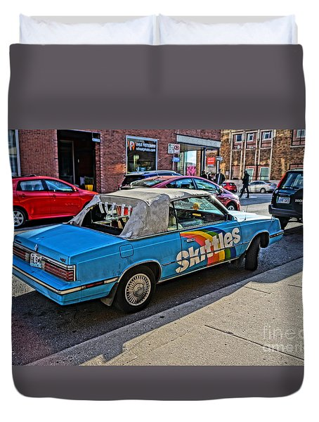 Skittles Car Duvet Cover