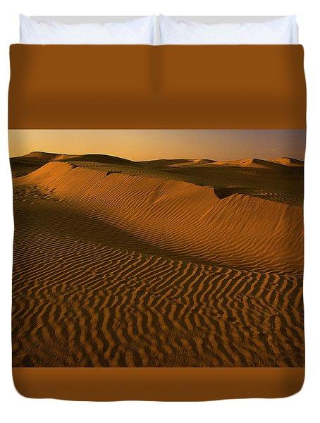 Skn 1127 The Golden Dunes Duvet Cover